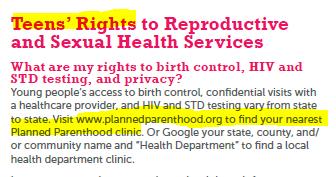 Sexual health helpline planned parenthood