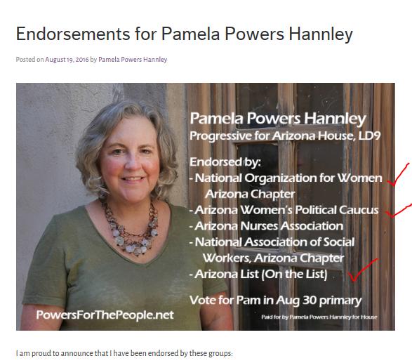 powers endorsements