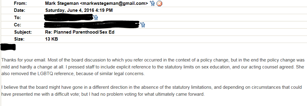 stegeman email